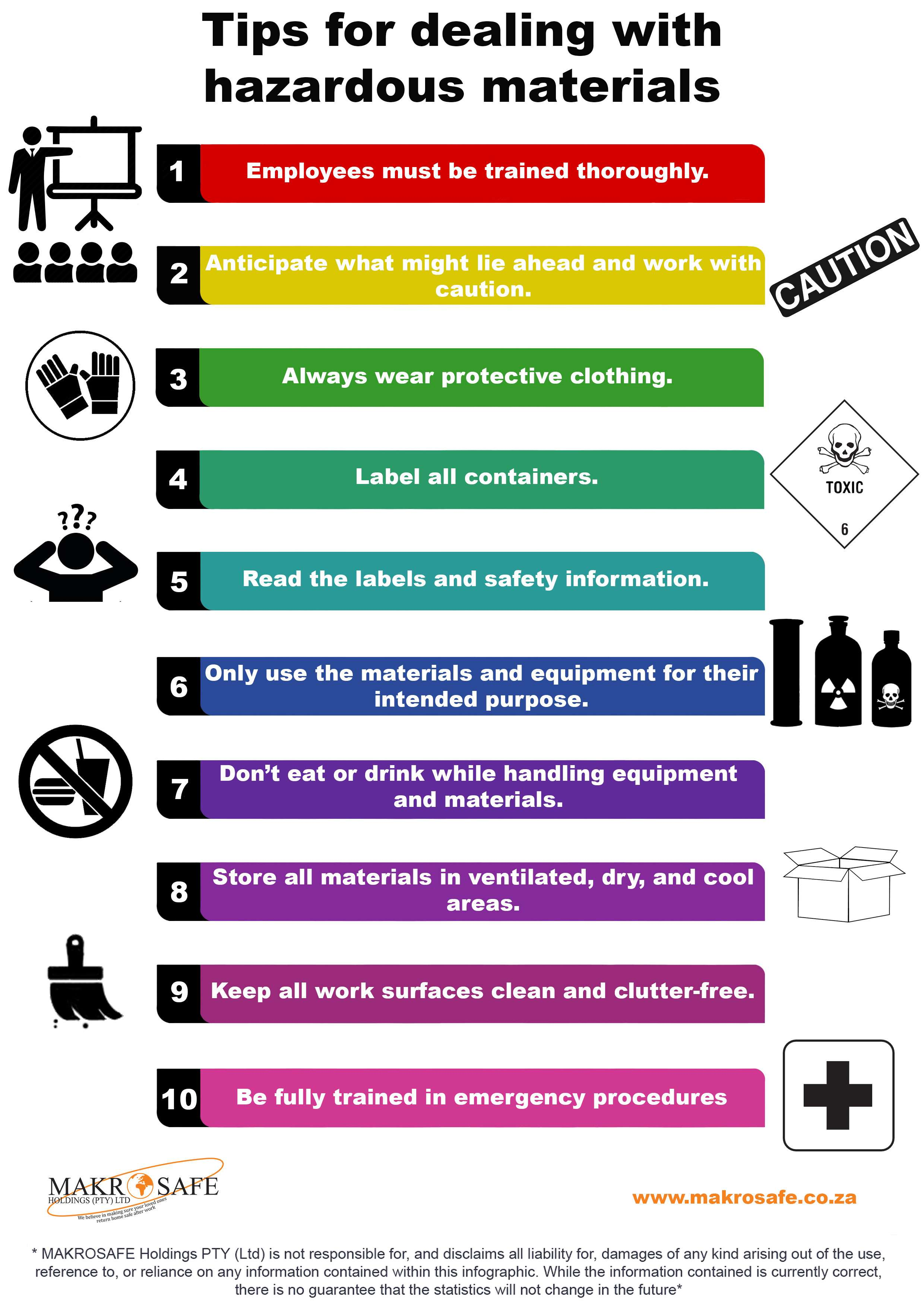 Tips for dealing with hazardous material - Airline Aviation