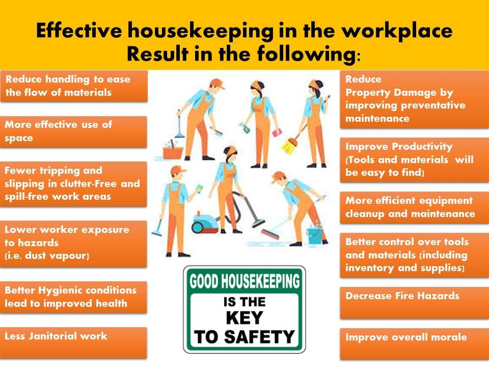 housekeeping in the workplace